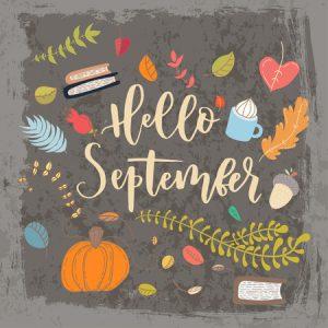Que trouve t-on sur les étals en Septembre ?