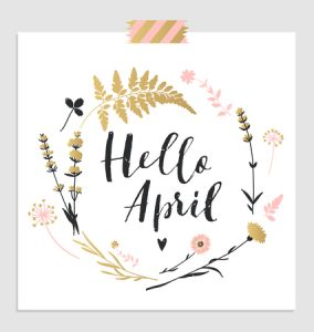 Que trouve t-on sur les étals en avril ?