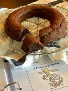 Gâteau au chocolat et à la ... courgette ! Version ig bas