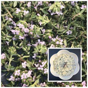 Beurre de fleurs de thym