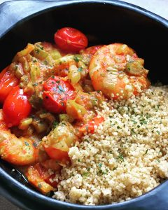 Mijoté poireaux - fenouil au curry