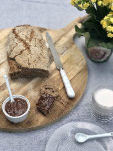 Pâte à tartiner minute  (Ig Bas, sans produits laitiers, sans robot ménager, 3 ingrédients et petite quantité)